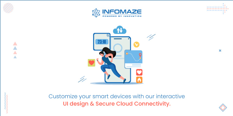 Custom and Secure IoT application