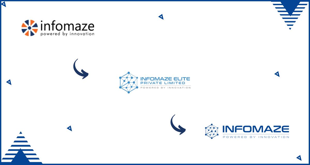Evolution of the Infomaze Logo