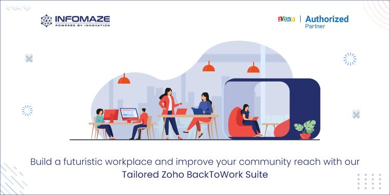 Zoho BackToWork suite to Monitor workspace safety