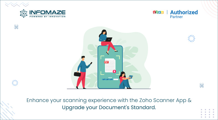The best scanner app with Zoho customization services