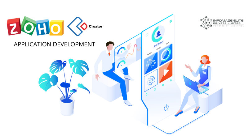 Zoho-Creator-application-development-Infomaze
