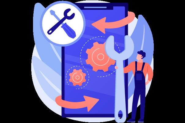 .Net development for work order management software