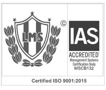 ISO 9001- 2015 Certified