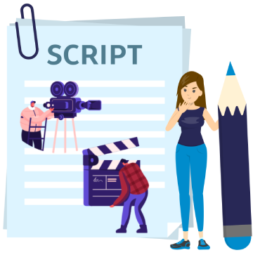 Video and Animation Script Contetn Writing Services