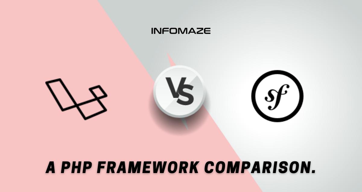 Symfony-vs-Laravel-Famework-Infomaze
