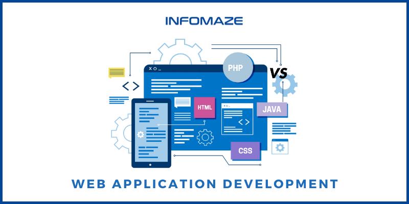 Web Application Development through PHP vs. Java
