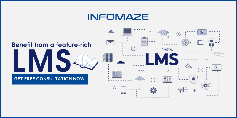 Advantages from a Feature-rich LMS