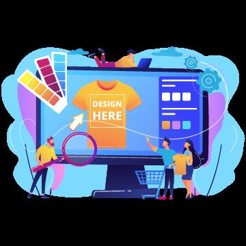 Online Design Studio for Admin for Customer