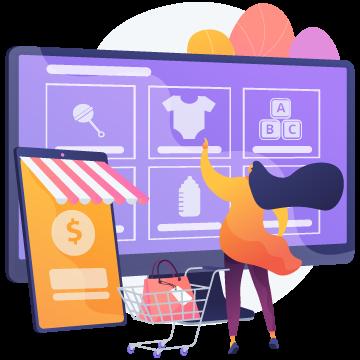 Custom Magento E-commerce development