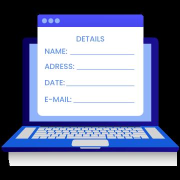 Online Dynamic Form Builder editable options