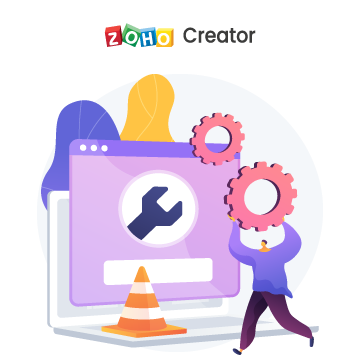 Zoho Creator Support and maintenance