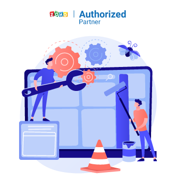 Zoho Support and maintenance